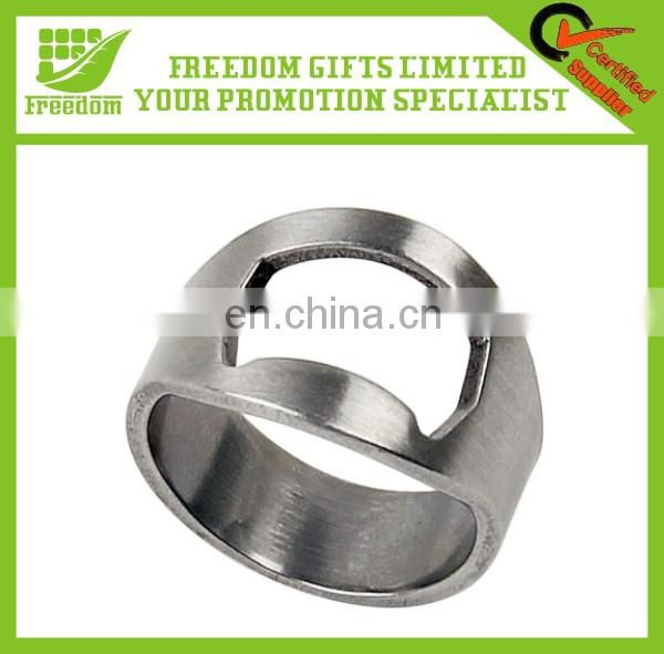Fashionable High Quality Metal Bottle Opener Ring