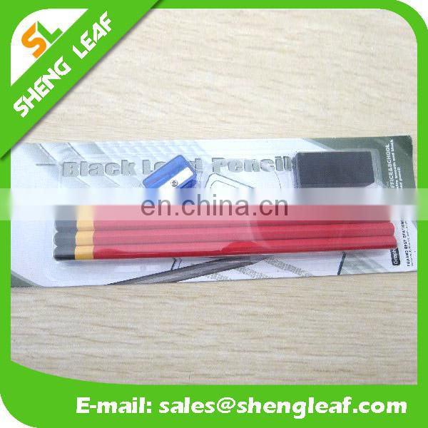 Pencil rubber pencil sharpener for 1 set