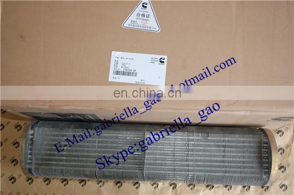 NT855 hot sell oil cooler core 218754