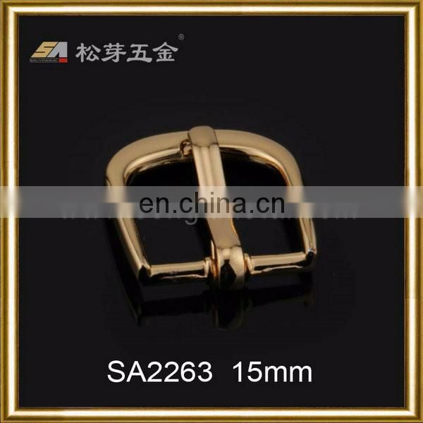 High-end handbag hardware--pin buckle fastening,15mm pin buckle