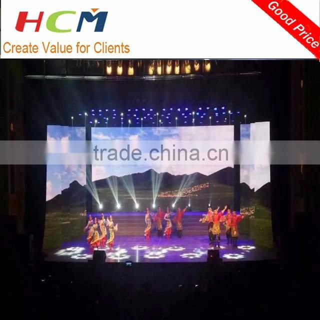 new polular design light weight aluminum led rental stage screen display video wall price