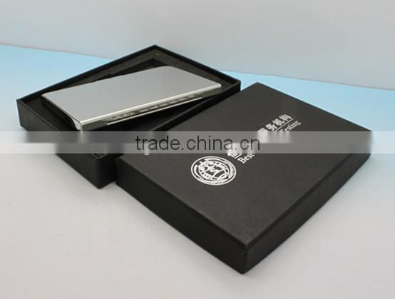 Superior quality stainless steel namecard holder with gift box