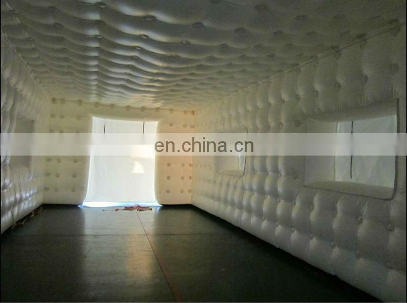 China new-style transparent inflatable dome tent