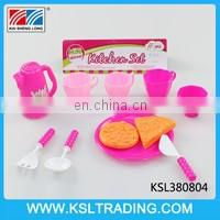 Hot sale and popular toy kitchen set for kids two style mixs
