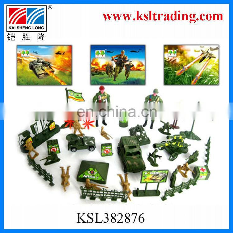 hot sale funny kids mini plastic military toy for manufacture