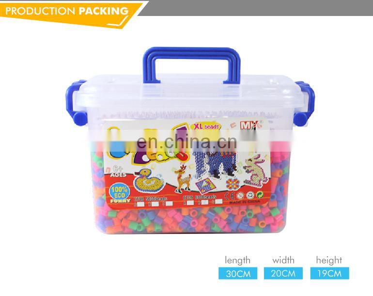 6000PCS Hot sell new kids toys safe material luminous abs plastic beads
