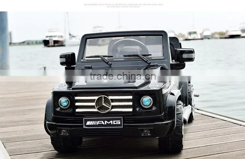 Licenced Twin Seats Ride On Car Mercedes Benz G55 with music