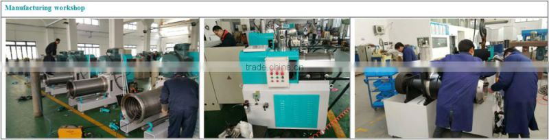 7.5KW 100Lvertical batch production basket mill for ink