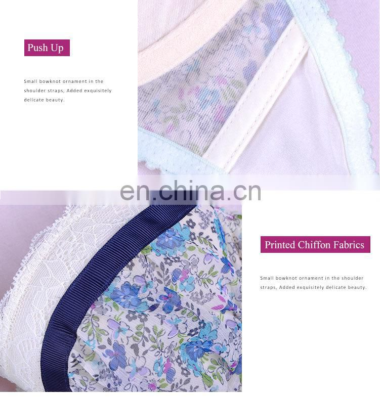 Made in China New Stytle Sweet Japanese School Girl Bra
