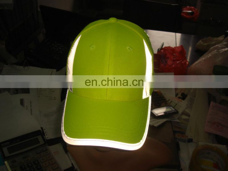 100%Cotton High Visibility Reflective Safety safety bottle cap