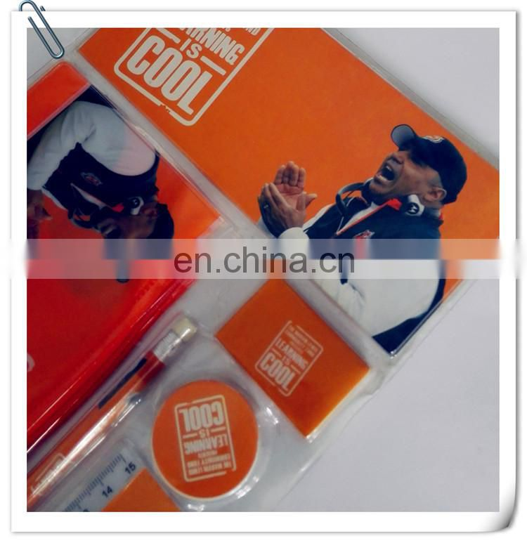 promotional cheap office school kids pencial drawing stationery gift set