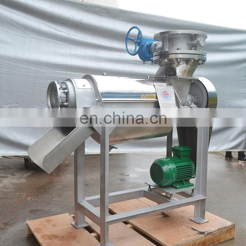 Juice Extractor Machine / Spiral Fruit Juicer And Crusher / Fruit Seed Crusher and Juicer
