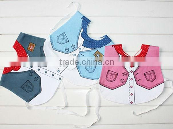 New Arrival Animals Style Waterproof Baby Bibs