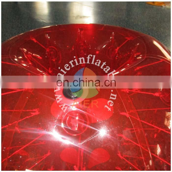 Top quality pengpengball cheap price inflatable balloon red inflatable zorb ball for kids and adults
