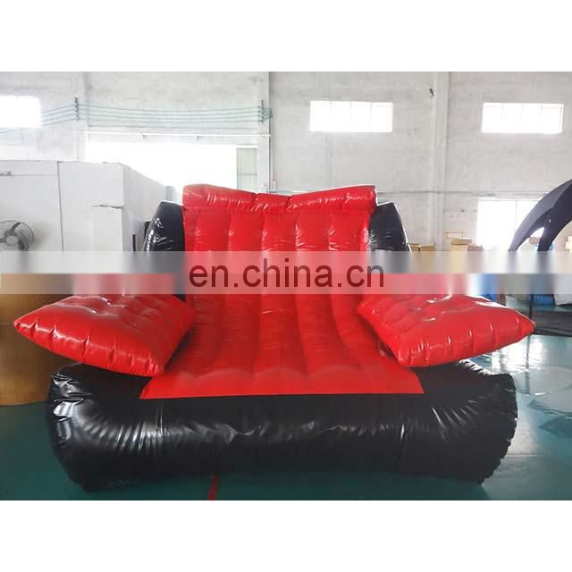 Double Inflatable PVC Soft Folding Sofa Living Room Furniture