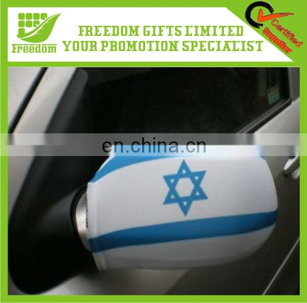Promotional Customized Polyester Car Wing Mirror Sleeve
