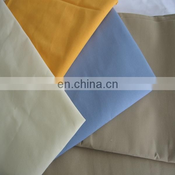 TC 35% pocketing white tc polyester/cotton poplin fabric from china