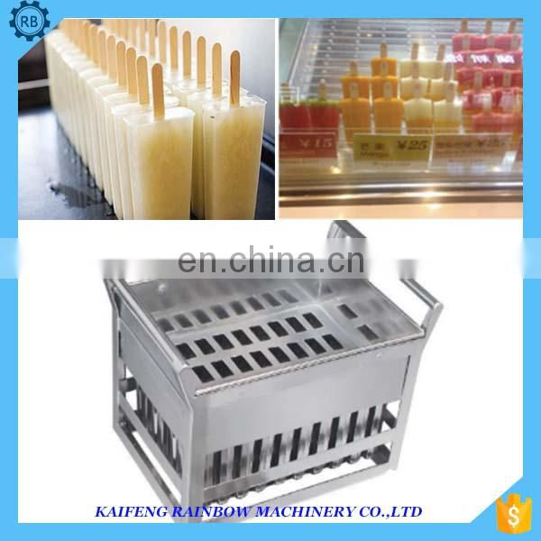 Stainless Steel Popsicle Mold Stick Ice Cream Bar Ice Pop Making Machine Ice Lolly