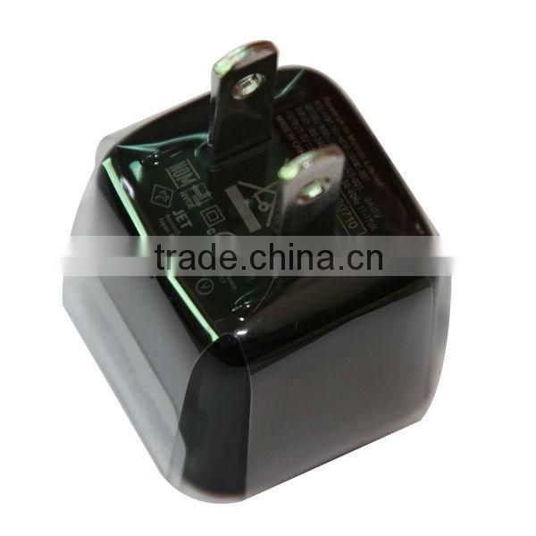 Hot sale US Type Travel Charger Adapter for Blackberry Portable