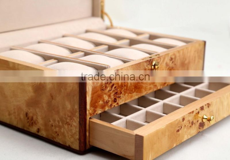new design wooden lacquer jewellery box