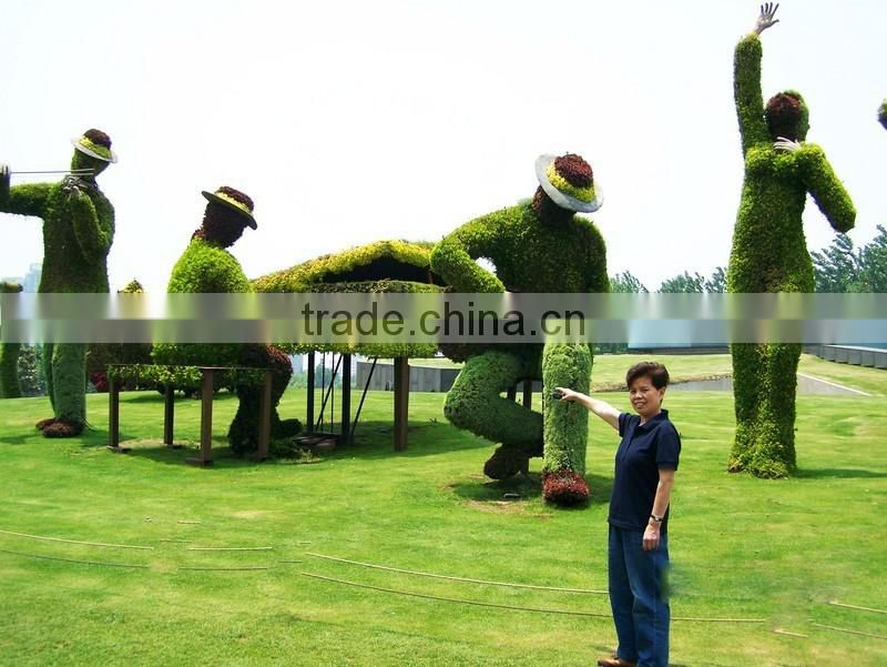 life size large top party artificial landscape uv resin plastic animal leaf alphabet letter elepant statue E08 23A21