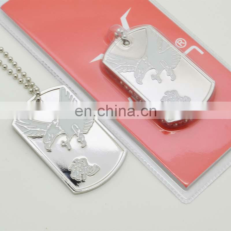 Fashion promotional funny engraving dog tags