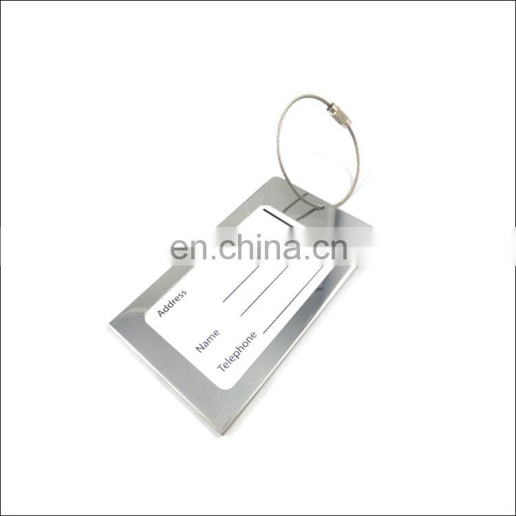 custom metal luggage tags with engraving