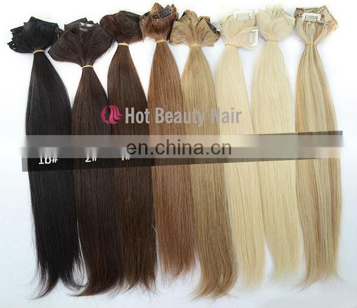 straight great length clip in hair extensions for black women