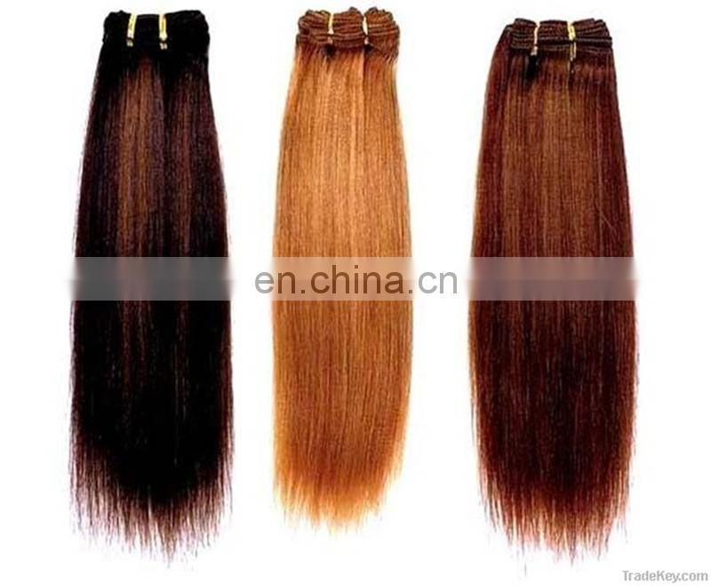 Cheap grade 10a double drawn human hair weaving remy indian human hair extensions silky straight