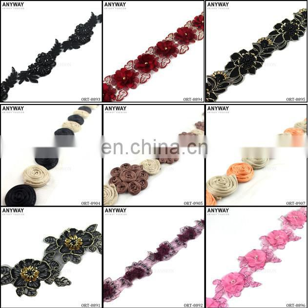 Lace garment accessories and trim wholesale