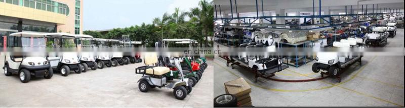 24V 80AH Battery Golf Cart 4 seater utility vehicle
