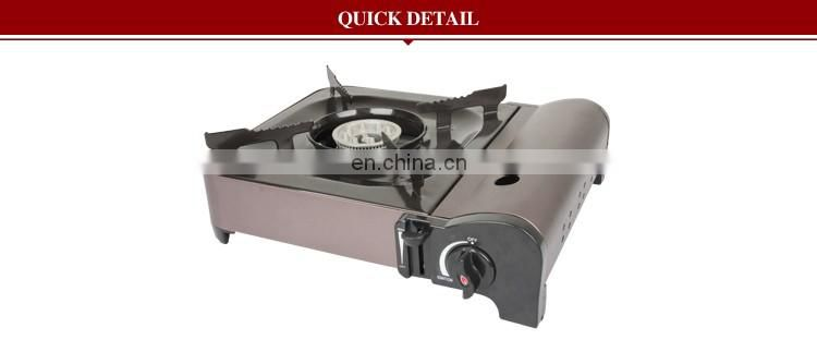 outdoor gas cooker with single burner