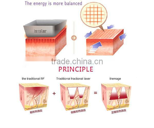 fractional microneedle RF facial machine