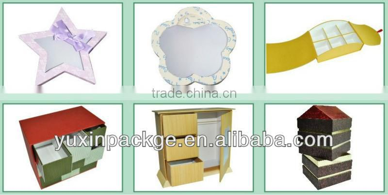paper package cosmetic packing box with hot stamping gold foil 250g coating paper packing box for perfume
