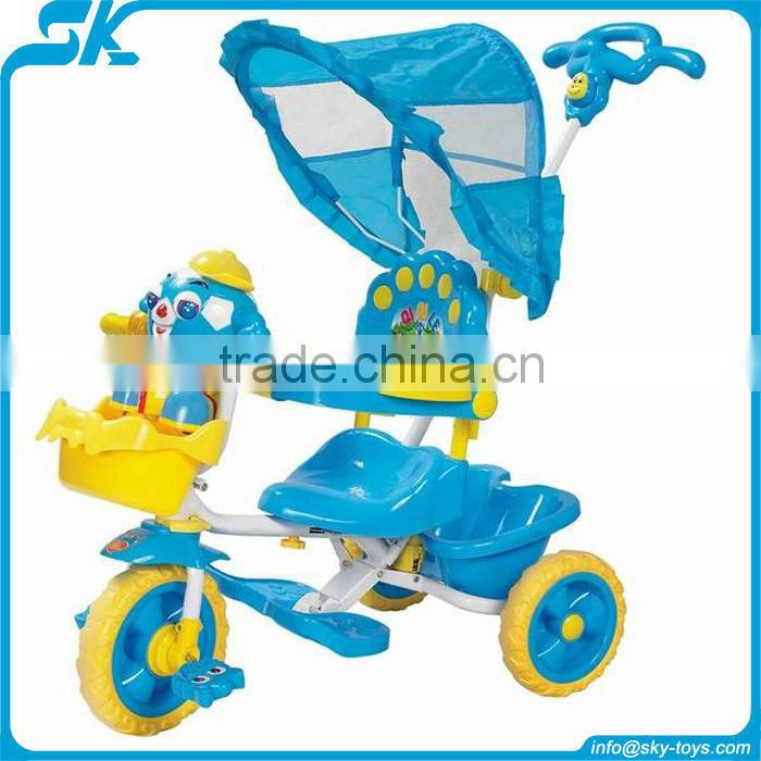 Riding vehicles hot 2012 children toy car children pedal go kart Plastic pushing baby car stroller