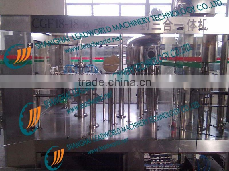 Alkaline Mineral Water Washing-Filling-Capping Line