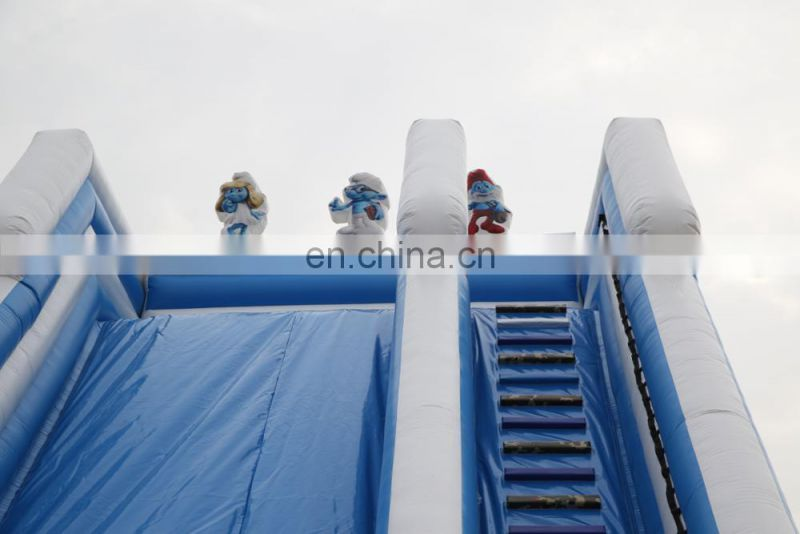 Popular bouncy castle inflatable slide water park equipment with high quality