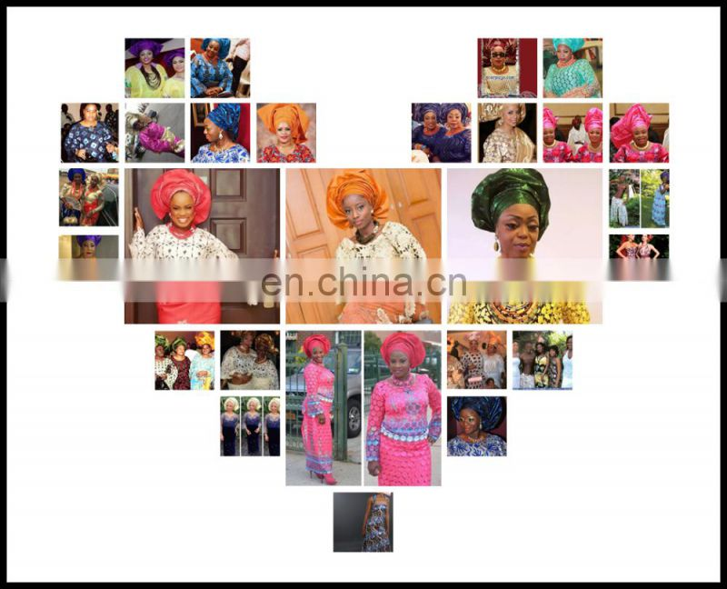 latest high quality nigeria aso oke for head tie