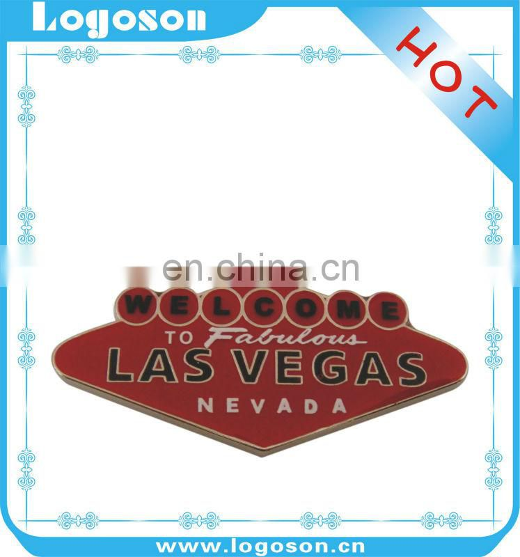 2016 Hot Selling souvenir Las Vegas Metal Badge