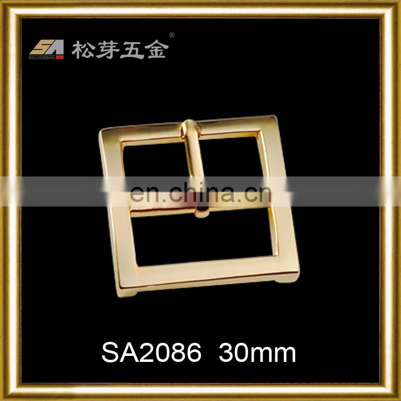 Suitcase parts square pin buckle belt buckles