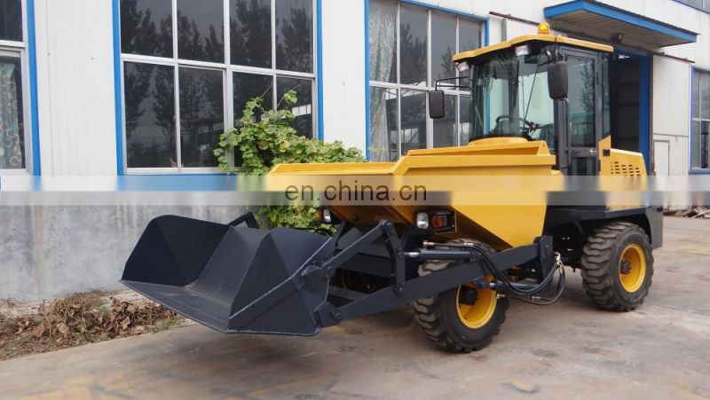 FCY30 4wd site dumper truck, 3tons load hydraulic tipping car Image