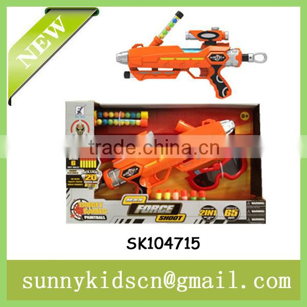 2014 new design soft gun soft bullet gun toy for wholesale