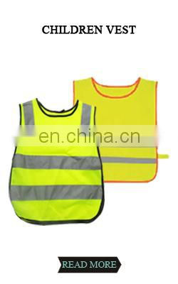 Security safety vest EN20471 Class 2 Hi Vis vest reflective safety vest