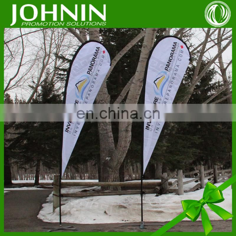 Outdoor promotional Flying teardrop Beach Flag