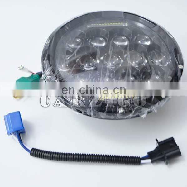 "sealed beam accessories advantaged price high quality 7"" round led 75W headlight for jeep,4x4 off-road"