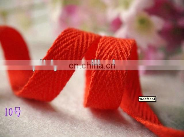 Children's garment Cotton herringbone Ribbon