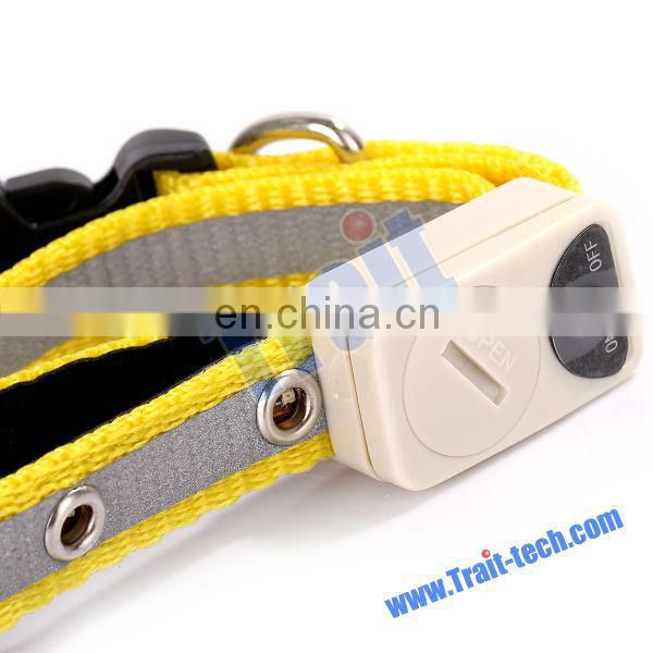 Dog Electric Loss Prevention Pet Alarm Collar Gift for Dog Pet