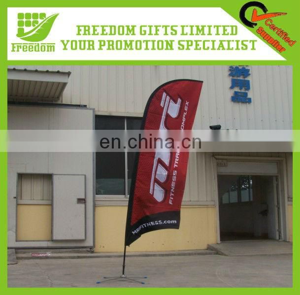 Advertising Outdoor Flying Flag Banner