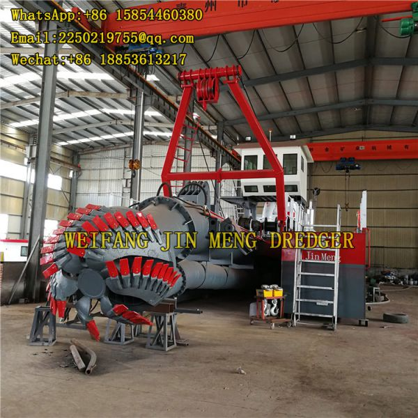River Dredging Equipment 5000m3/h Water Flow Sand Production Image