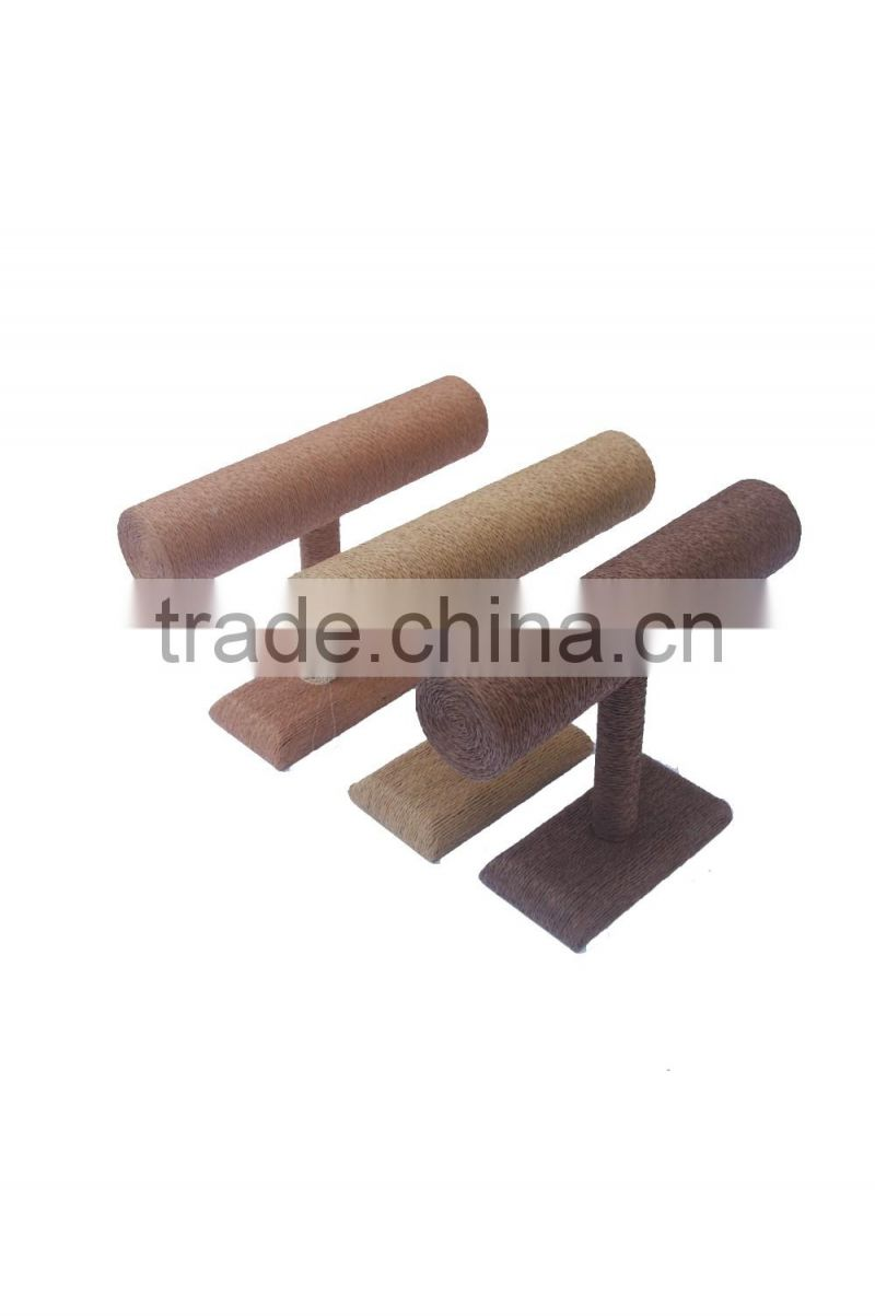 Hollow acrylic table display for jewelry/bangle/bracelet/necklace, wholesale acrylic t-bar T-02